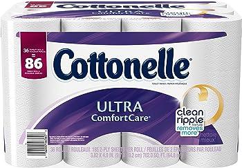 36-Rolls Cottonelle Ultra Comfort Care Toilet Paper