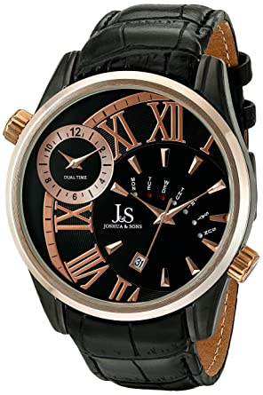 eda533c06bb Image Unavailable. Image not available for. Color  Joshua   Sons Men s  JS72BKR Rose Gold ...