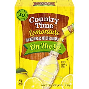 Country Time Lemonade Drink Mix (0.67 oz Packets, 6 Pack of 10 Count)