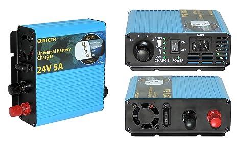 V 5A Cargador profesional Battery Charger para recargar ...