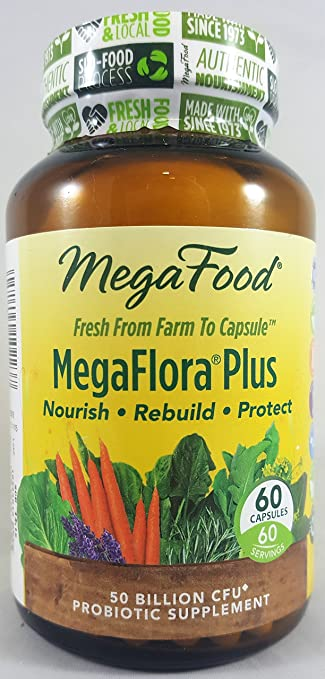 Amazon.com: MegaFood Mega Flora Plus, 60 CT: Health ...