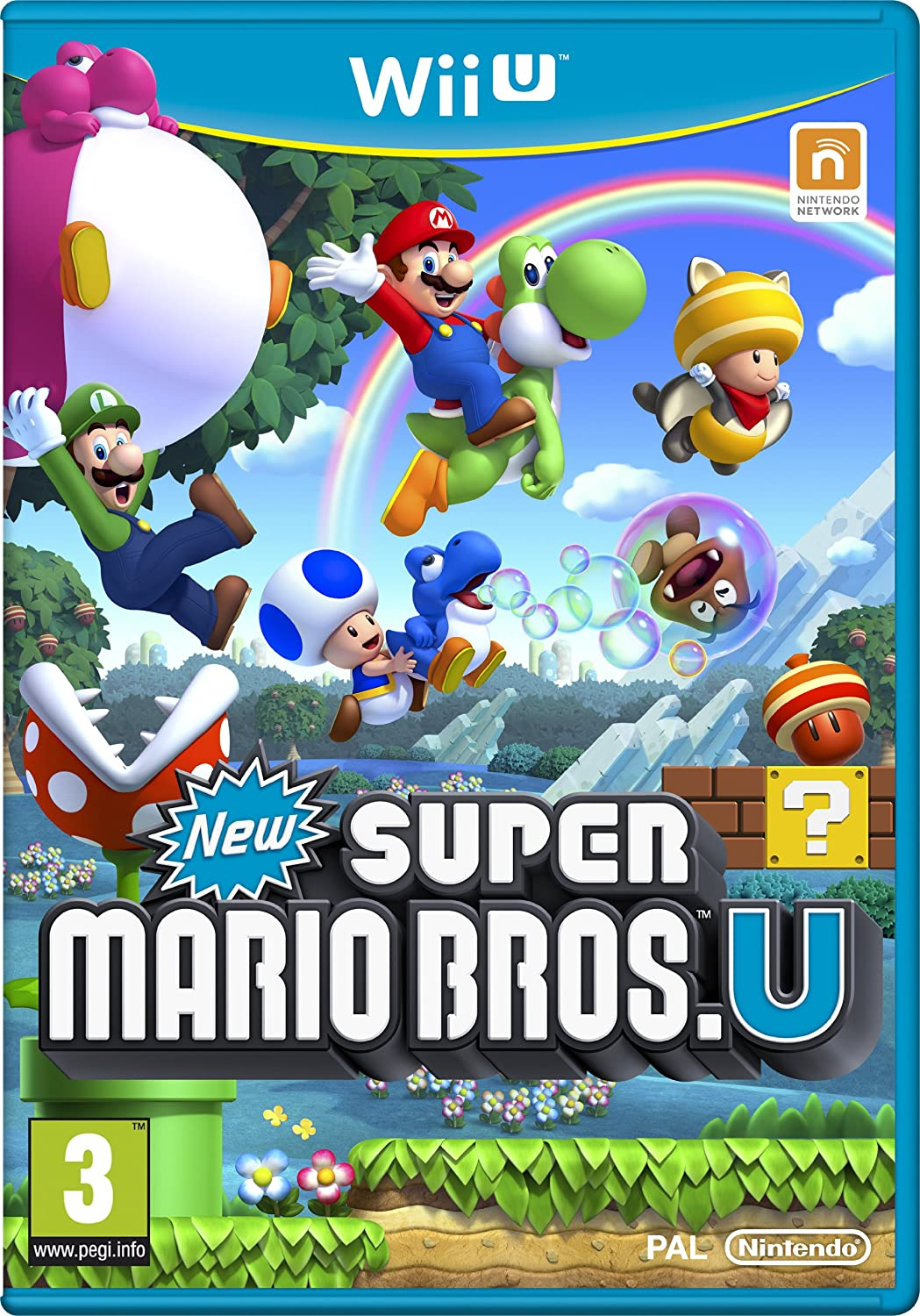 Nintendo New Super Mario Bros. U, Wii U - Juego (Wii U): Amazon.es ...