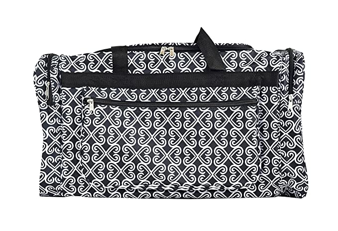 6dc1b044c64b Gym Dance Cheer Travel Carry On Foldable Hand Duffle Bag 22 inch Fashion  Multi Pocket Sports Lightweight Luggage Bag
