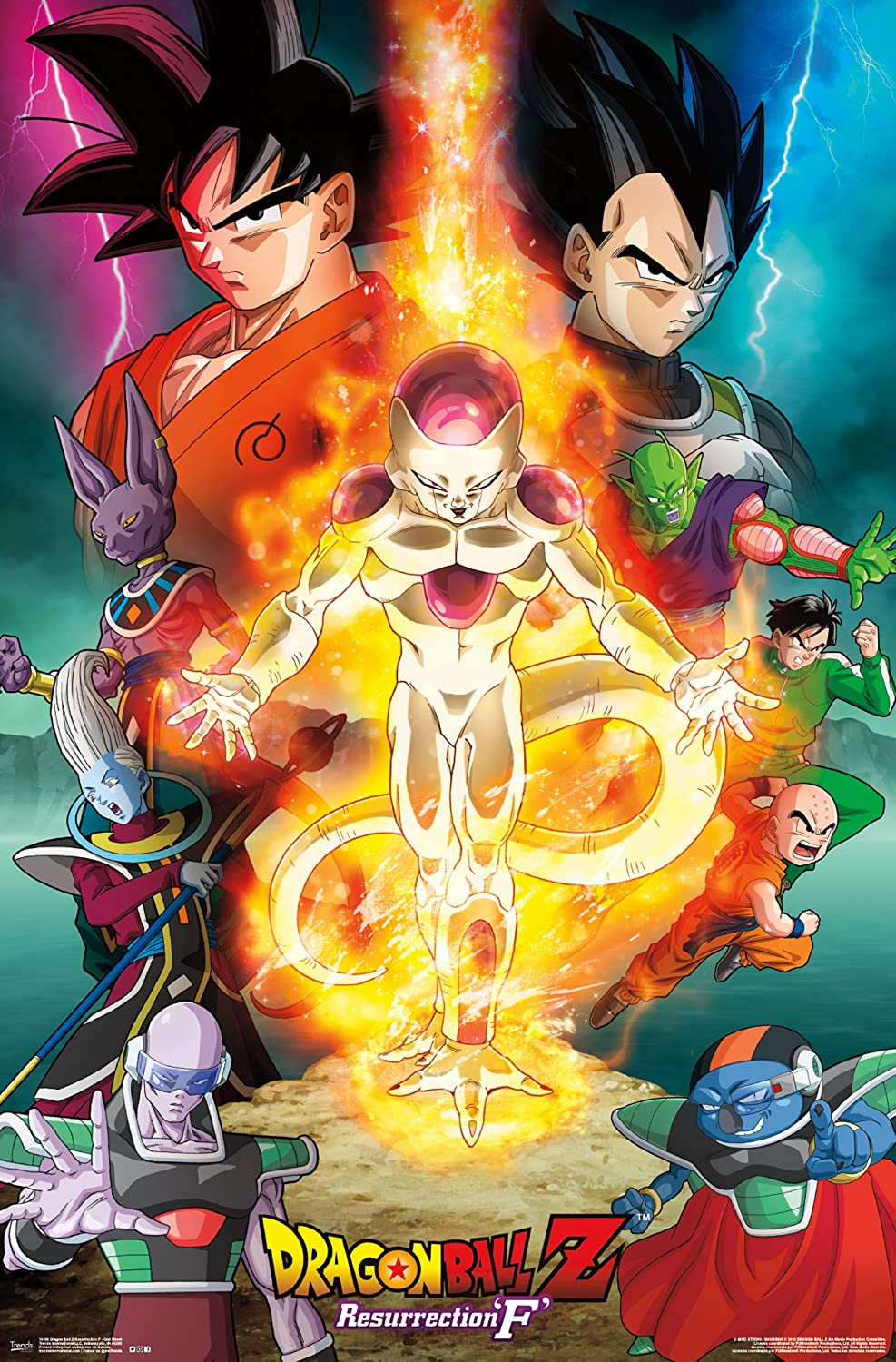 Trends International Dragon Ball Z Res F Wall Poster 22.375