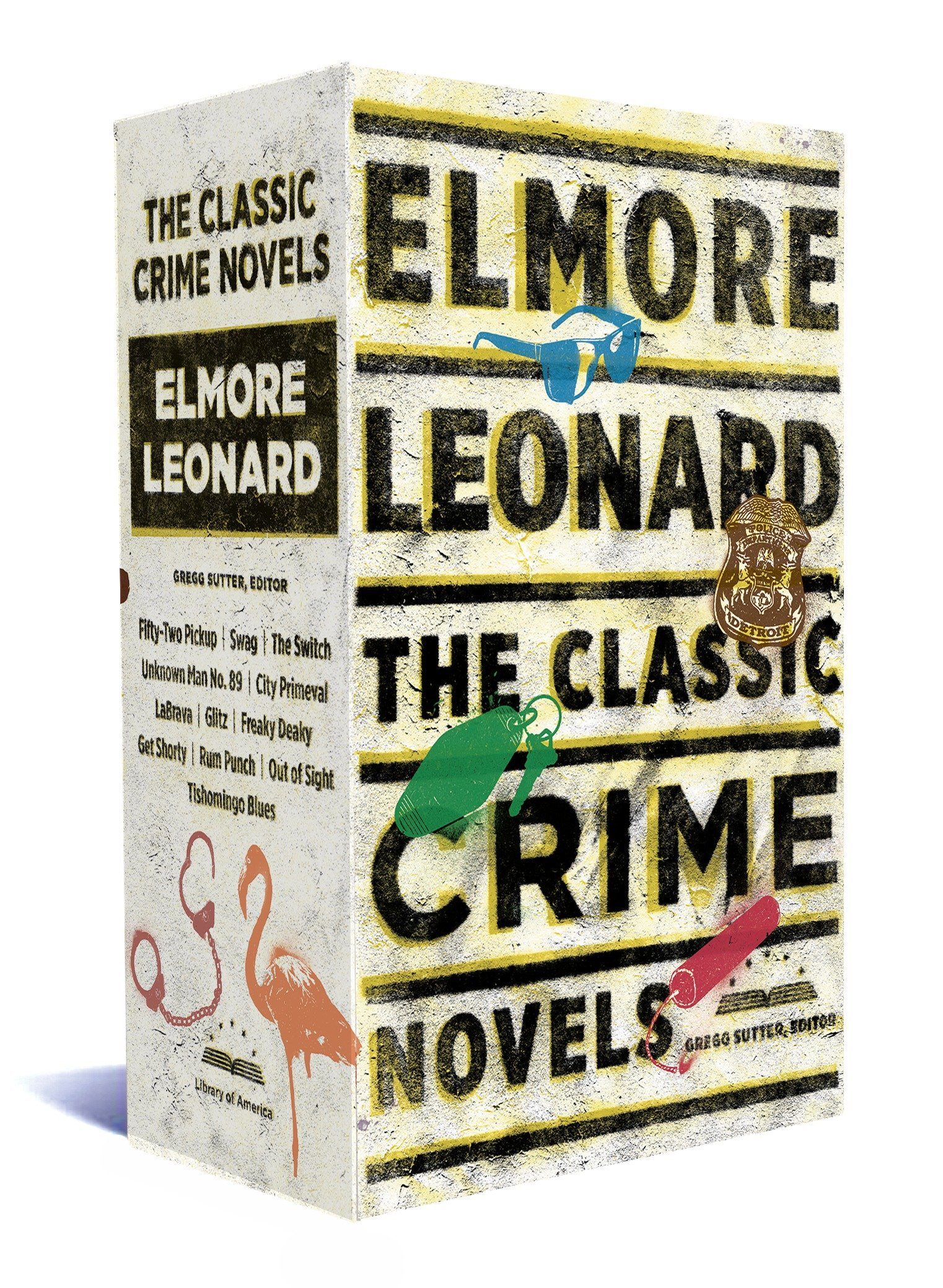 Elmore Leonard: The Classic Crime Novels: A Library of America Boxed Set by Library of America