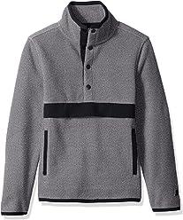 Starter Girls' Polar Fleece Pullover with Pockets, Amazon Exclusive