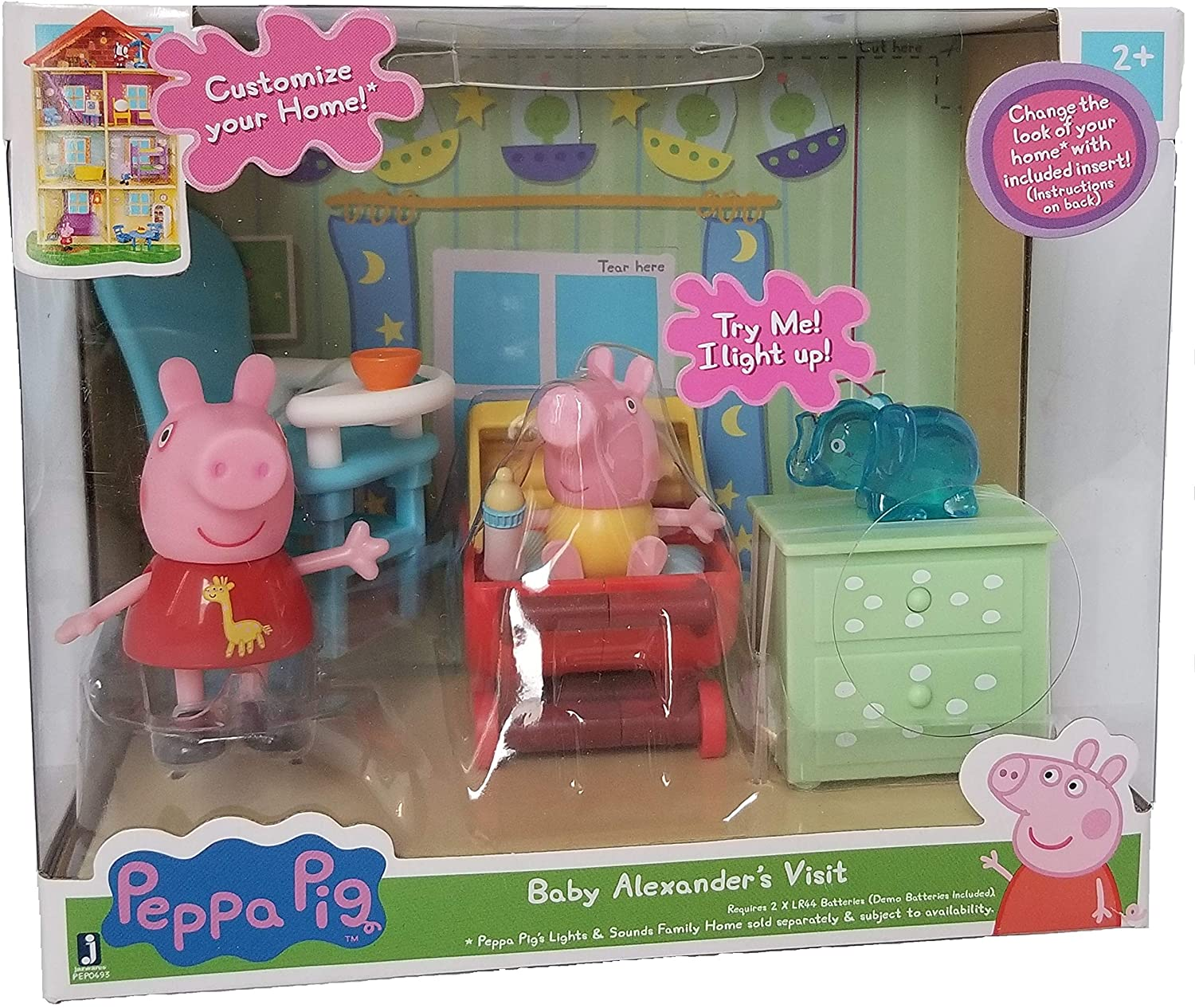 Customize your Home! Peppa Pig - Baby Alexander's Visit