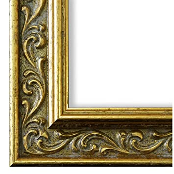 Bilderrahmen Verona 558p Oro Gold 4 4 Lr 60 X 80 Cm Wählen Sie Aus über 500 Varianten Alle Größen Antik Barock Landhaus Shabby Verziert