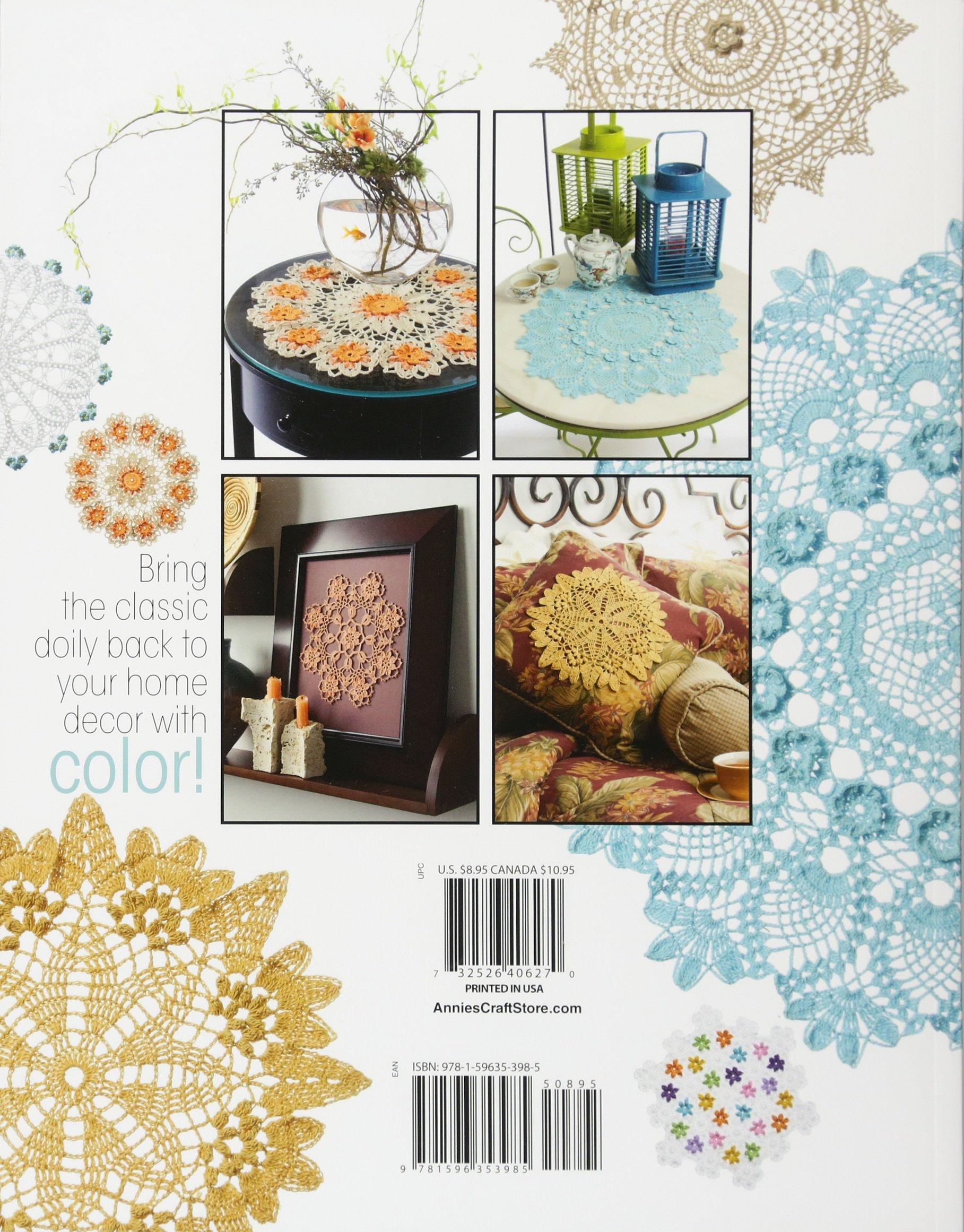 Doilies in ColorTM (Annie's Attic: Crochet): Connie Ellison: 8601200656503:  Amazon.com: Books