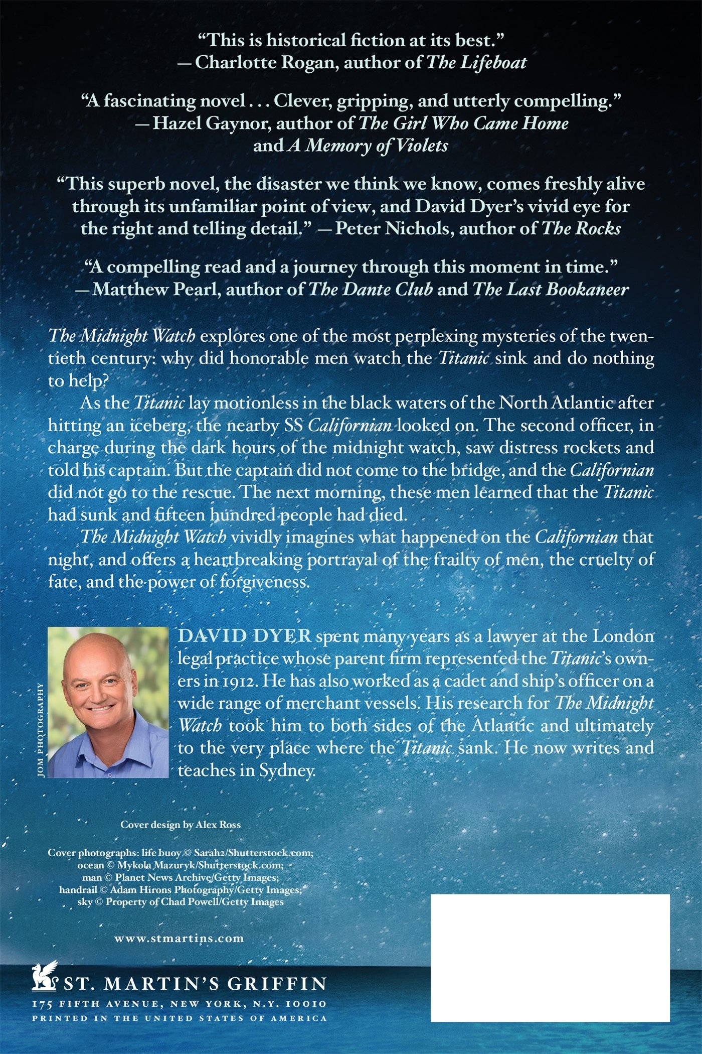 The Midnight Watch: A Novel of the Titanic and the Californian ...