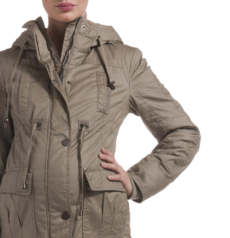 Jacken abnehmbar Umstandsmode Mantel Damen 30670Kapuzenicht Noppies 3RAL54qj