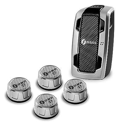 Amazon com: Fobo Tire Plus Pressure Sensor, Silver: Amazon