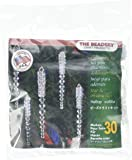 Beadery Holiday Beaded Ornament Kit, 3.75-Inch, Sparkling Icicles, Makes 30 Ornaments