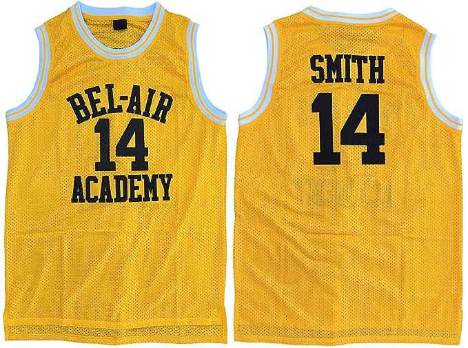 MVG ATHLETICS Smith #14 Bel Air Academy - Camiseta de Baloncesto ...