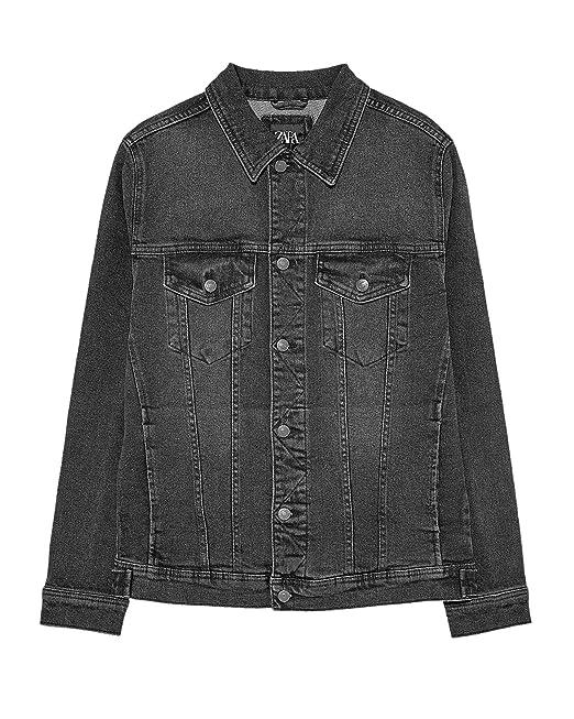 Zara Giacca Donna Grigio M: Amazon.it: Abbigliamento