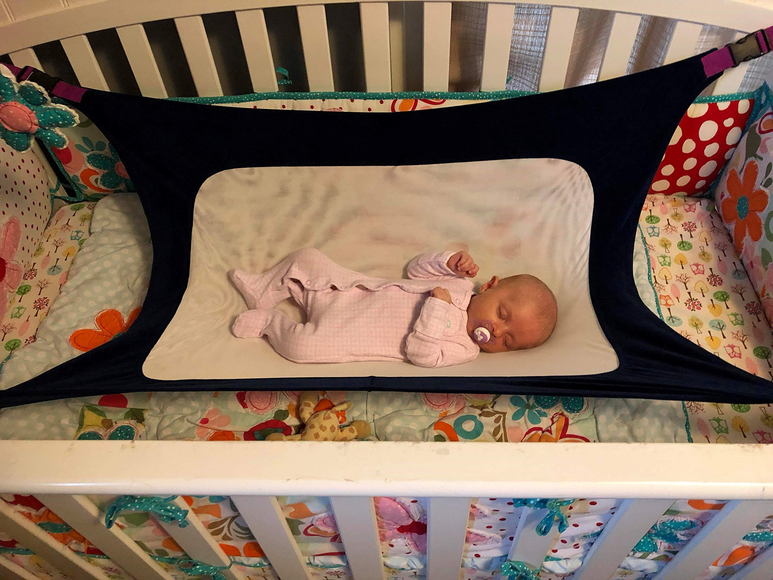 Love Truly Newborn Baby Crib Hammock, Enhanced Material, Upgraded Safety Measures, Quality Assured Infant Nursery Bed by Love Truly