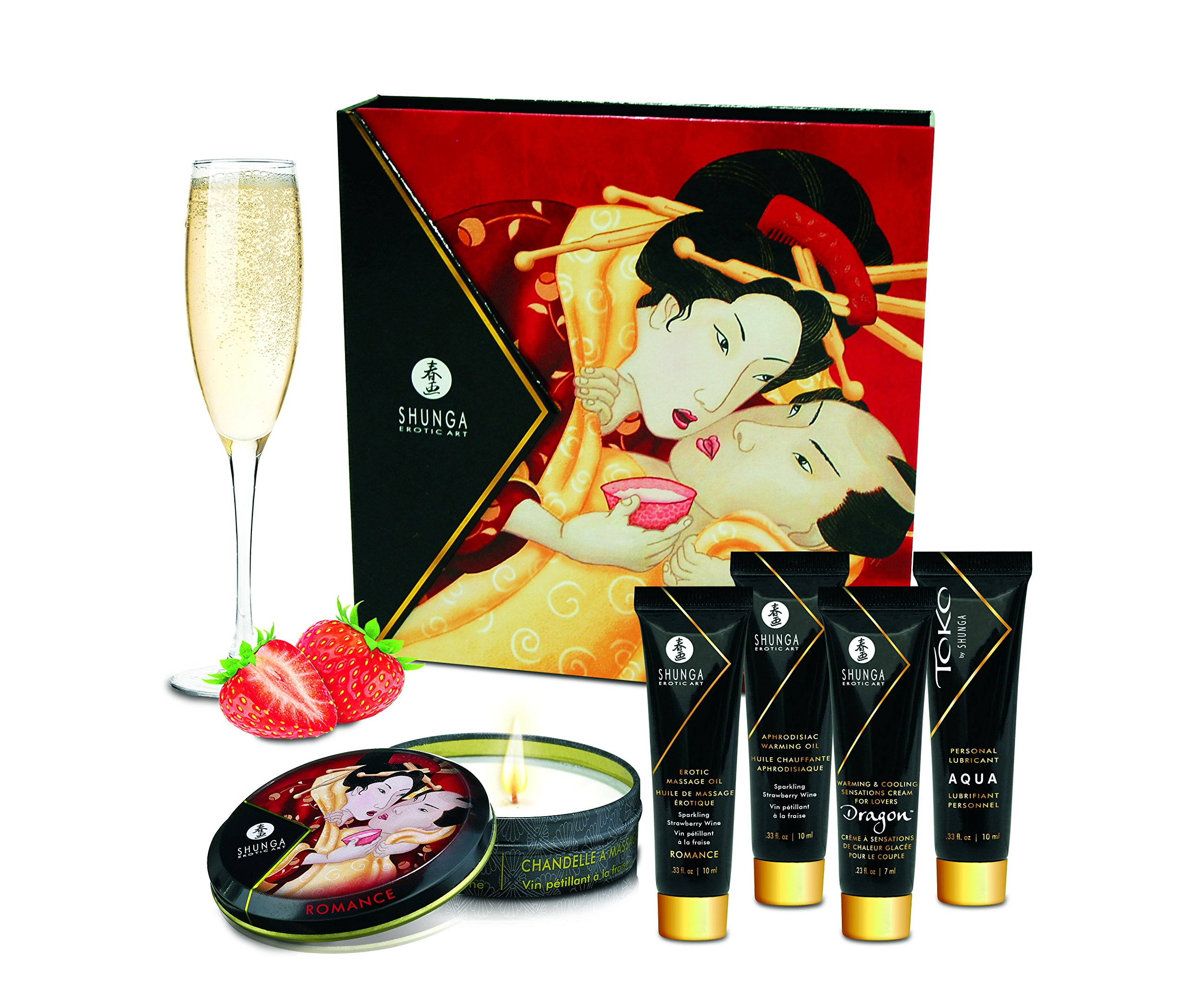 Shunga Geisha's Secret Kit, Strawberry