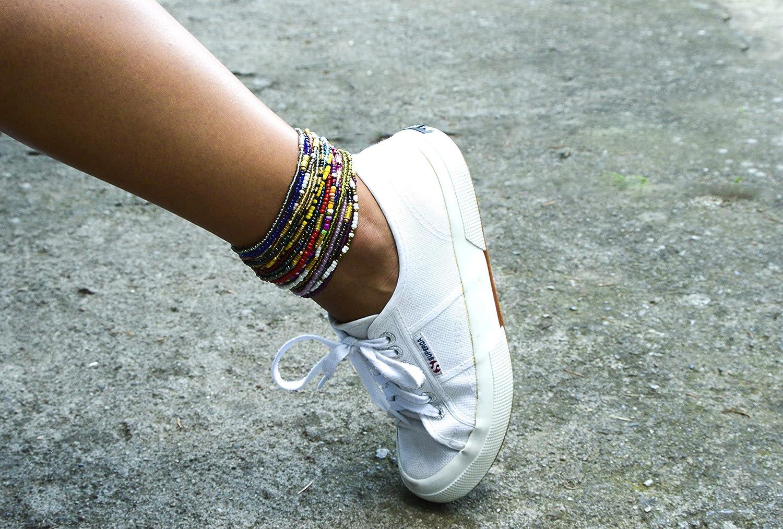 Fushia pink Anklet Beads