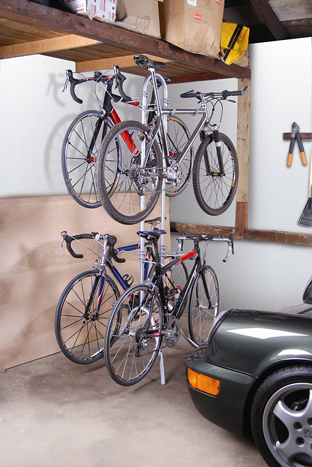 Amazon.com : Delta Botticelli Four Bike Storage Rack : Indoor Bike ...