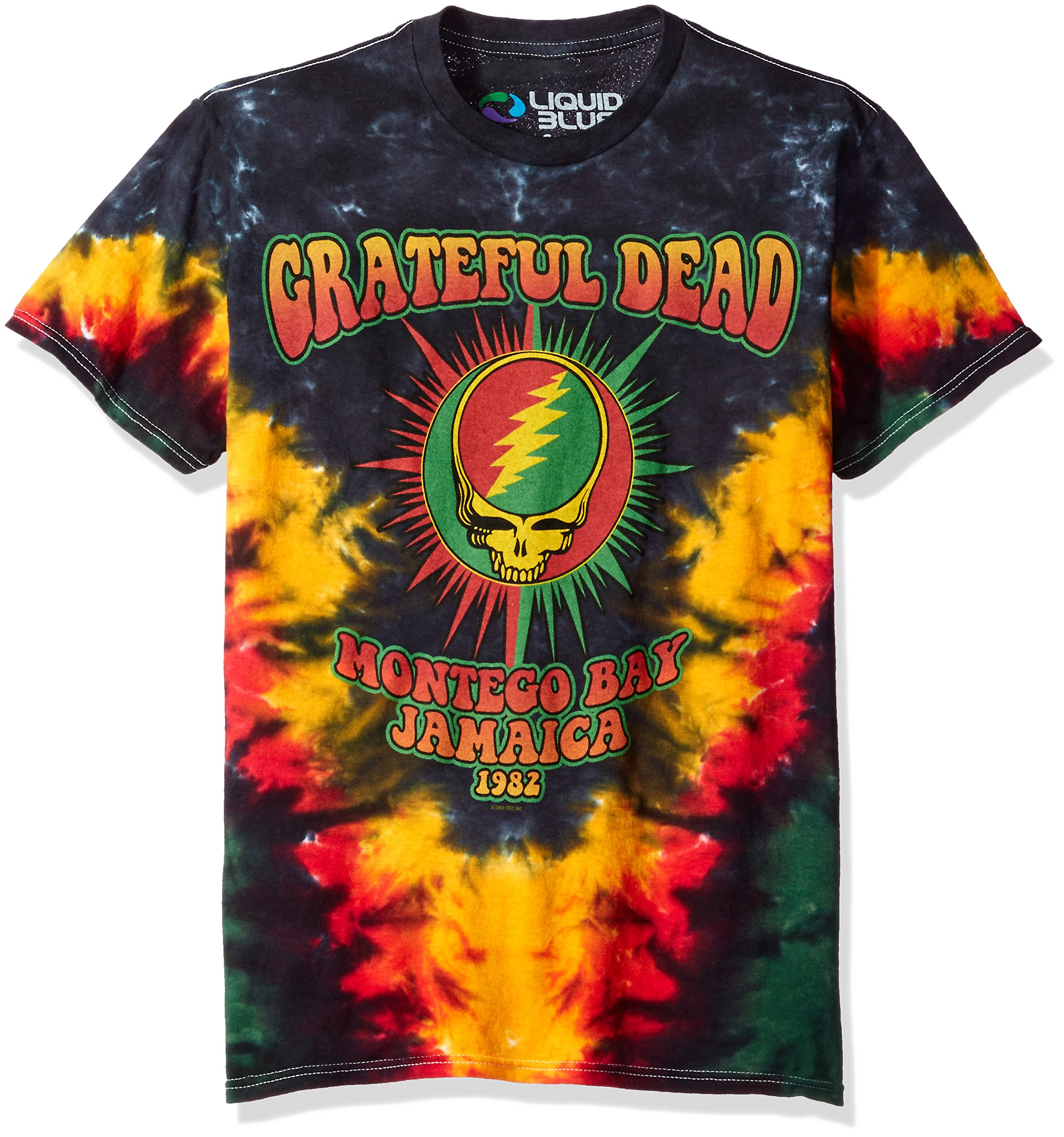 f58abad1135 Grateful Dead Spiral Bears Tie Dye T Shirt - BCD Tofu House