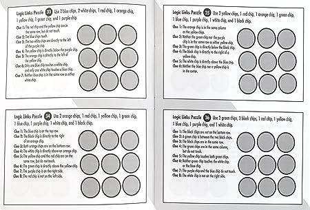 Amazon.com: MindWare - Logic Links: Level C - 100 Puzzles - Great ...