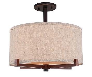 Amazon.com: Woodbridge Lighting 13437MEBLE-S11501 - Lámpara ...