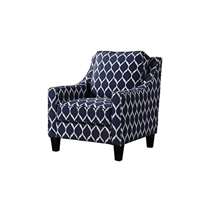 Magnificent Amazon Com Best Master Furniture 3019 Tori Upholstered Blue Bralicious Painted Fabric Chair Ideas Braliciousco