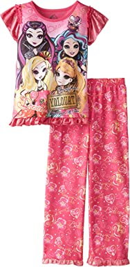 Ever After High Big Girls Short Sleeve Pajama Set