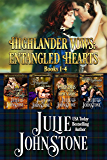 Highlander Vows: Entangled Hearts: Books 1-4