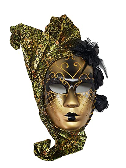 Buy MPS Masquerade Marquee face Mask / Hanging Mask Bell Wall ...