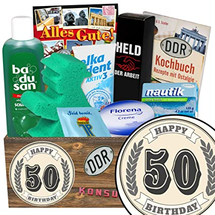 50 Geburtstag Geschenk 50 Geburtstag Frau Ddr Pflegebox