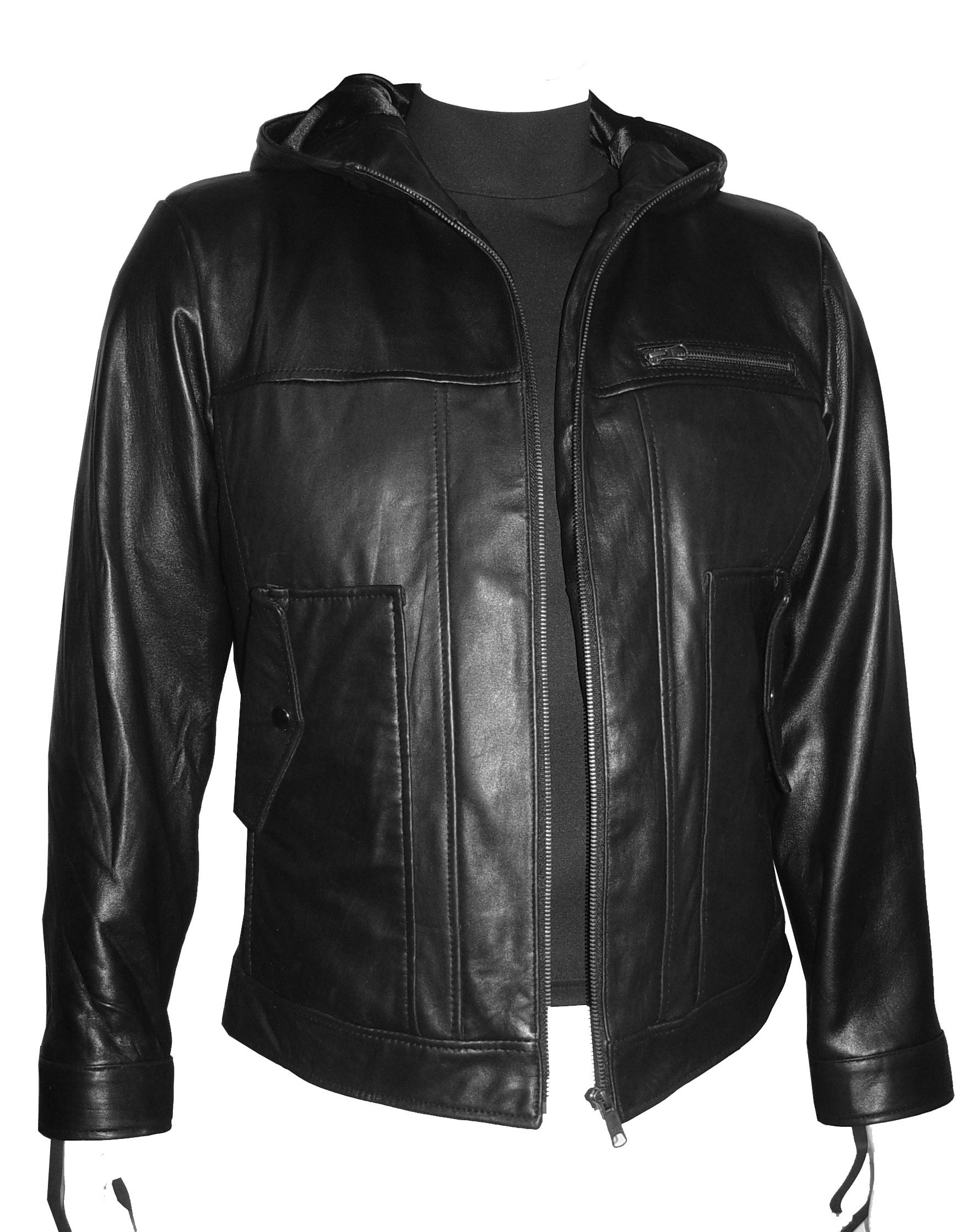 Nettailor Tall Big Man 1085 BIG TALL Size 4 Season Leather Jacket Zip Out