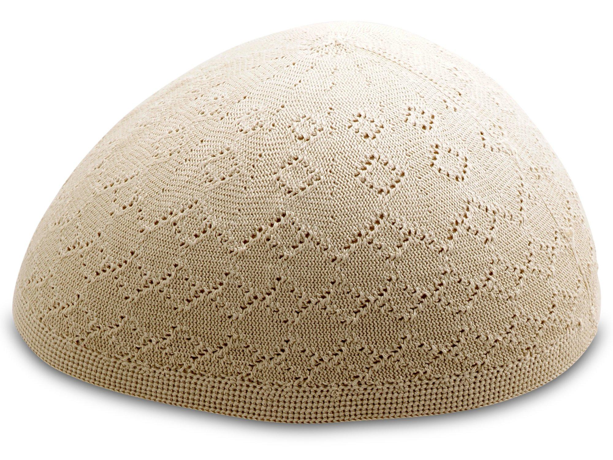 48f33d486c490 Muslim Bookmark Light Weight Turkish Cotton Crochet Kufi