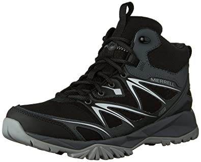 Amazon.com | Merrell Men's Capra Bolt Mid Waterproof Hiking Boot ...