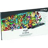 Lyra Hi-Quality Artpen 6751300 Pens in Metal Case Set of 30 Assorted Colours