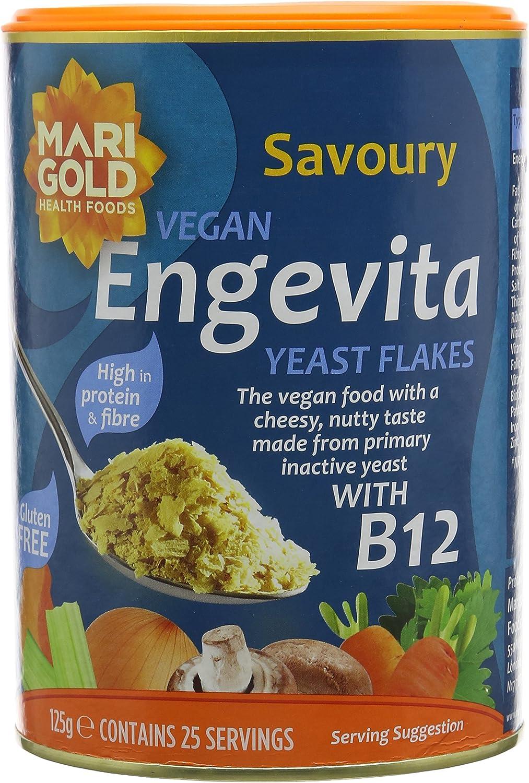 Engevita Yeast With B12 125 G Pack Of 3 Amazon Co Uk Grocery