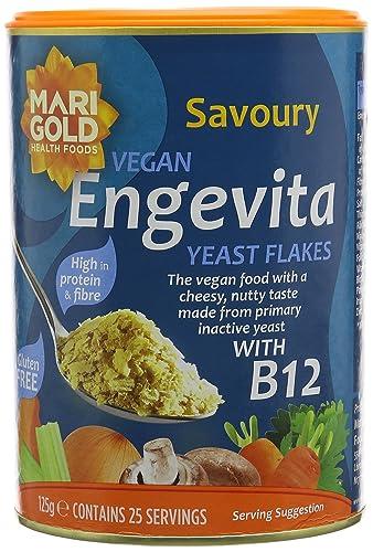 Engevita Yeast With B12 125 g (Pack of 3)