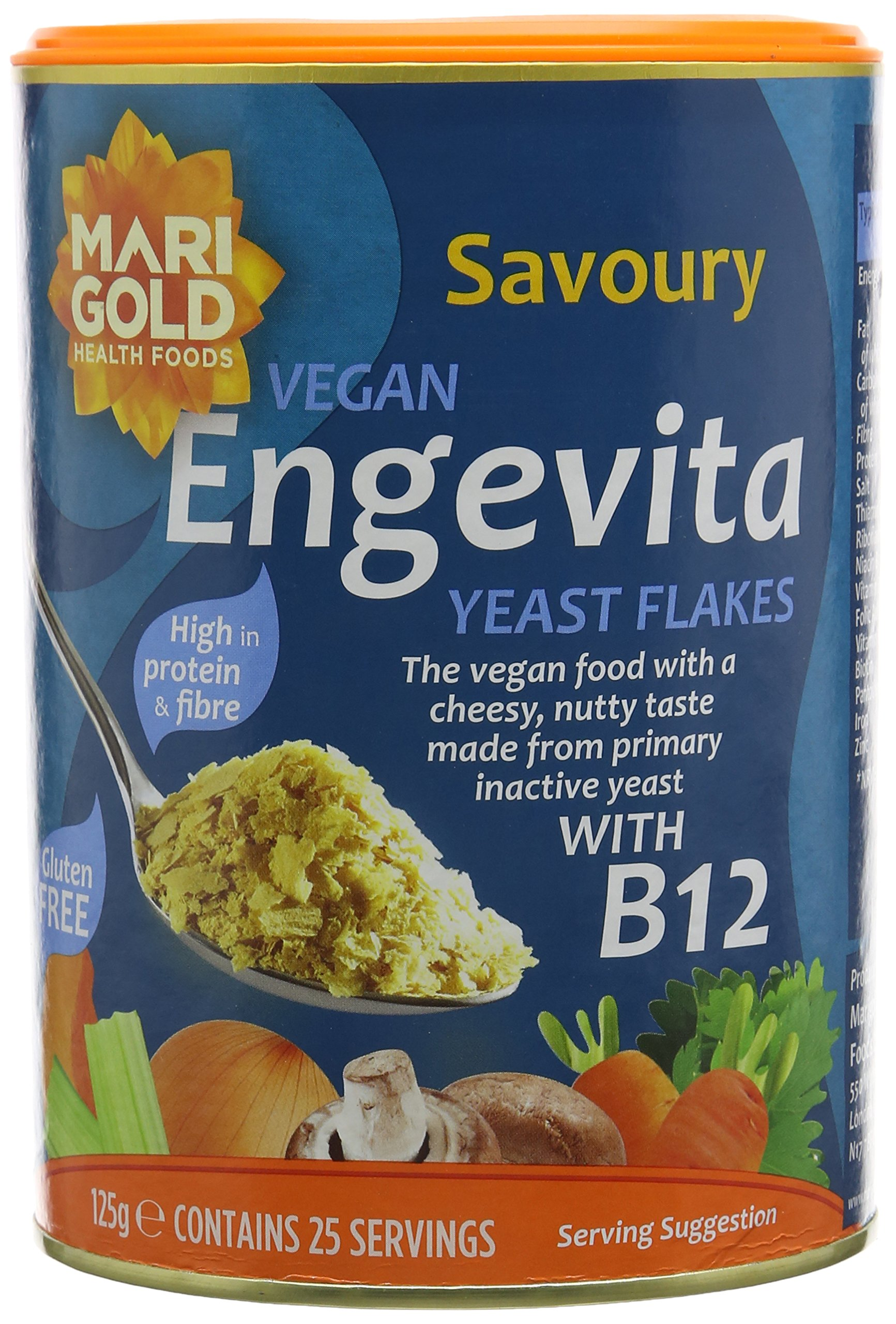 Engevita Yeast With B12 125 g (Pack of 3) product image