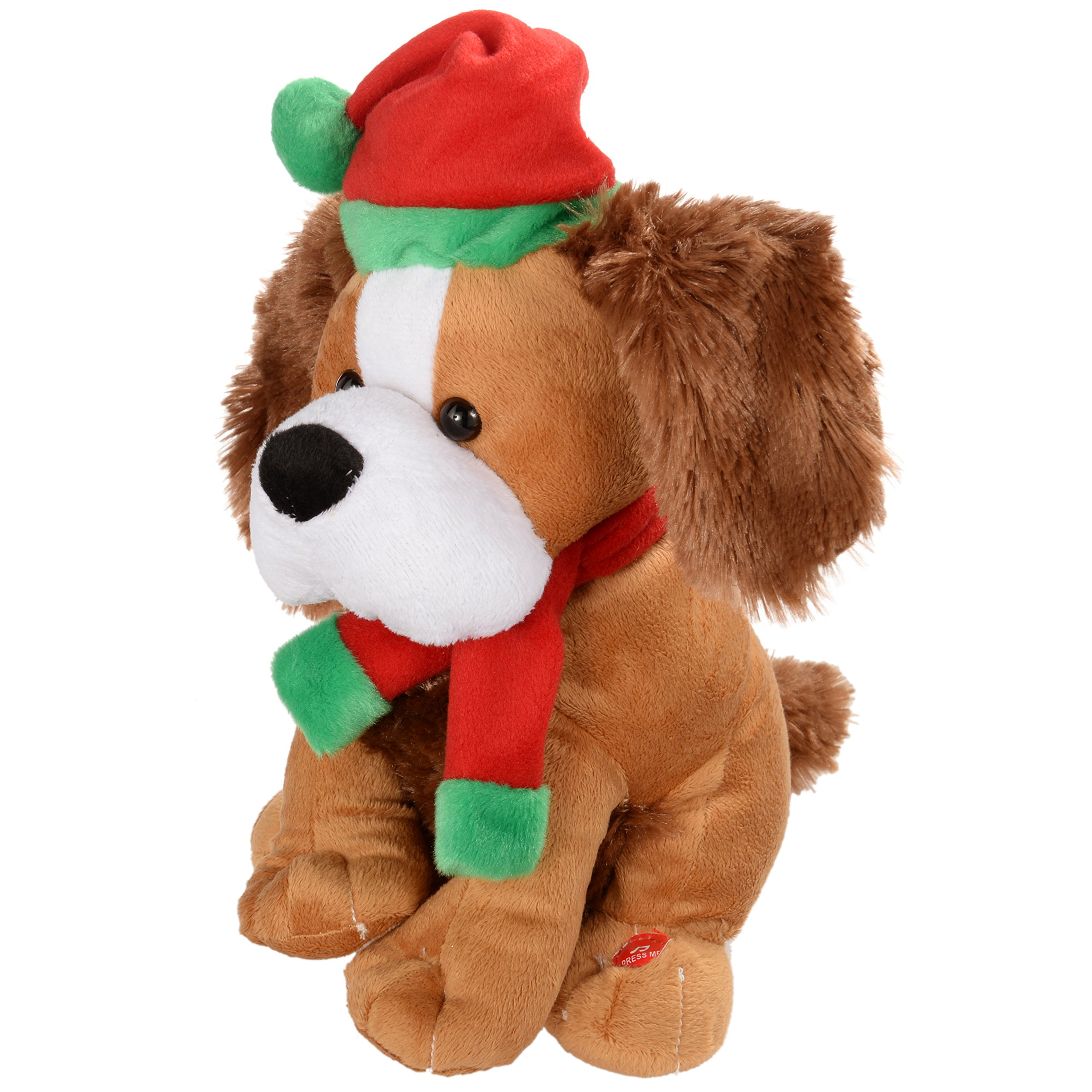 Christmas Singing Dog Flapping Ears