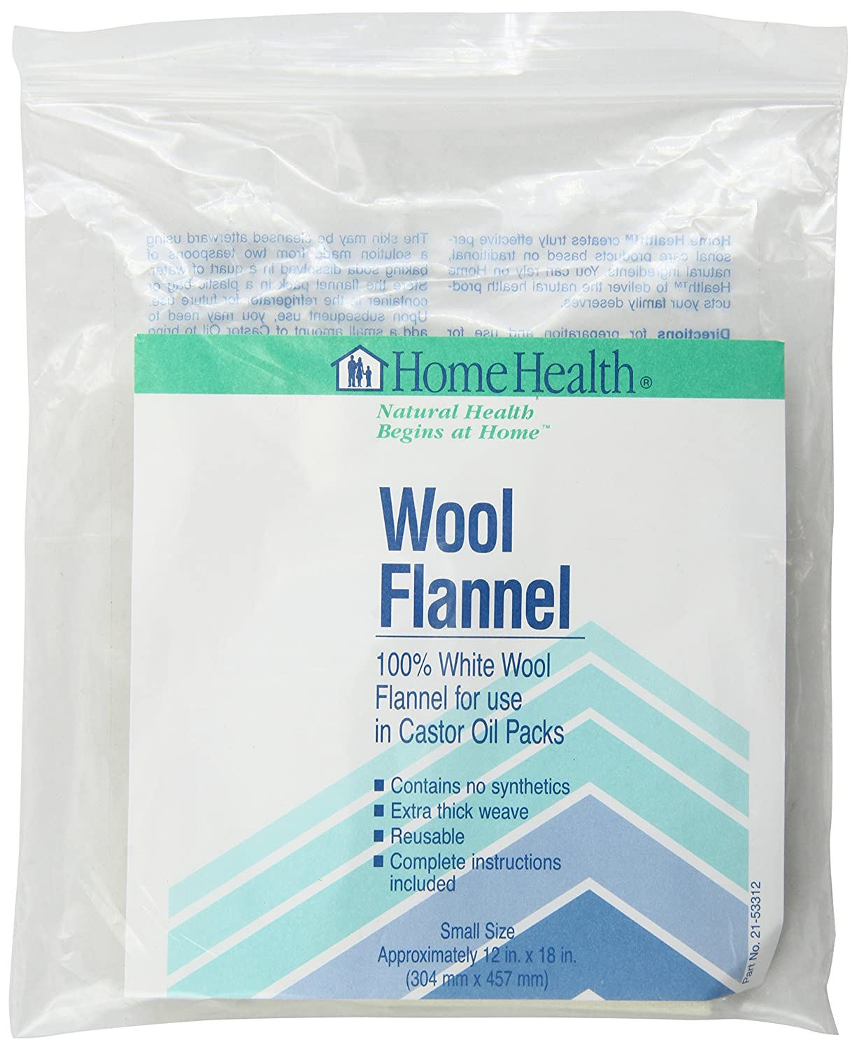 Home Health Wool Flannel, Small 499335