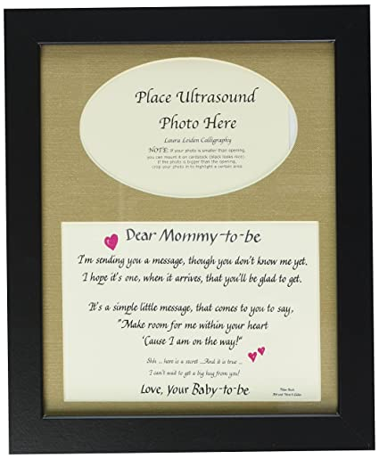 Amazon.com - All Things For Mom Mommy to Be Ultrasound Picture Frame ...