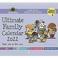 "MotherWord Ultimate Wall Calendar, 16-Month, Sept 2021 - Dec 2022, English, Tabbed Version, 12"" x 21.5"" (DDTB112822)"