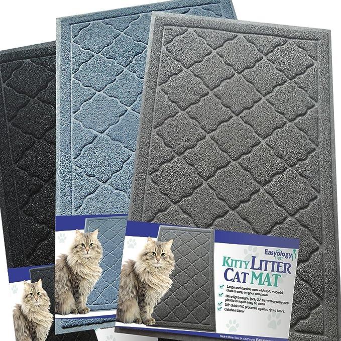 Easyology Alfombra para Gatos, tamao sper Grande, Suave al Tacto Light Gray: Amazon.es: Productos para mascotas