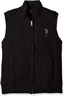 11d3a425c U.S. Polo Assn. Men s Full Zip Sherpa Vest at Amazon Men s Clothing ...
