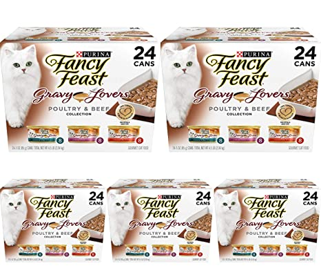 Amazon.com: Purina Fancy Feast – Pack variado de alimentos ...