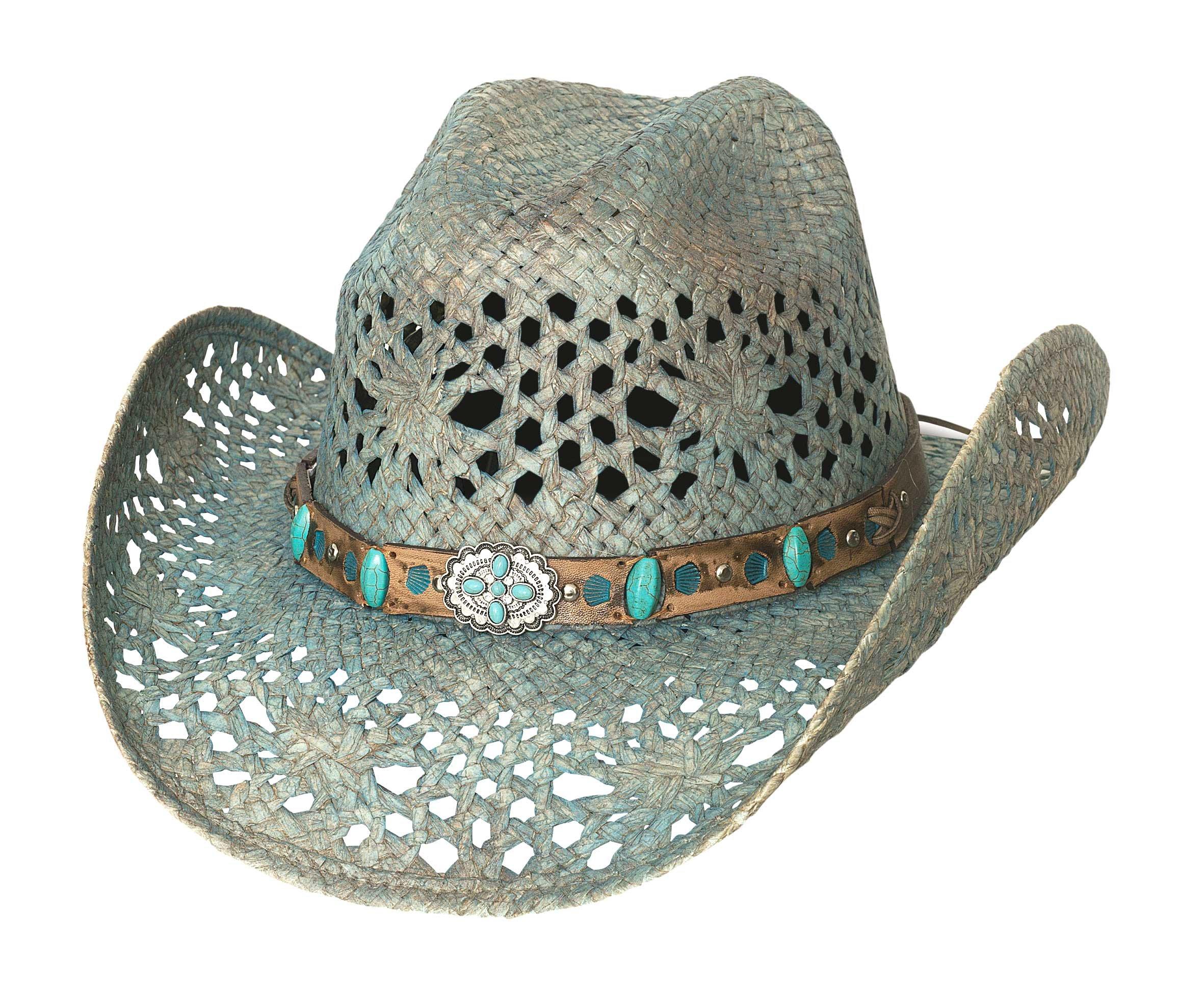 Bullhide Temptations - Shapeable Straw Cowboy Hat (Small)