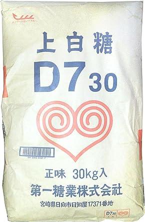 Amazon | 第一糖業 上白糖 30kg ...