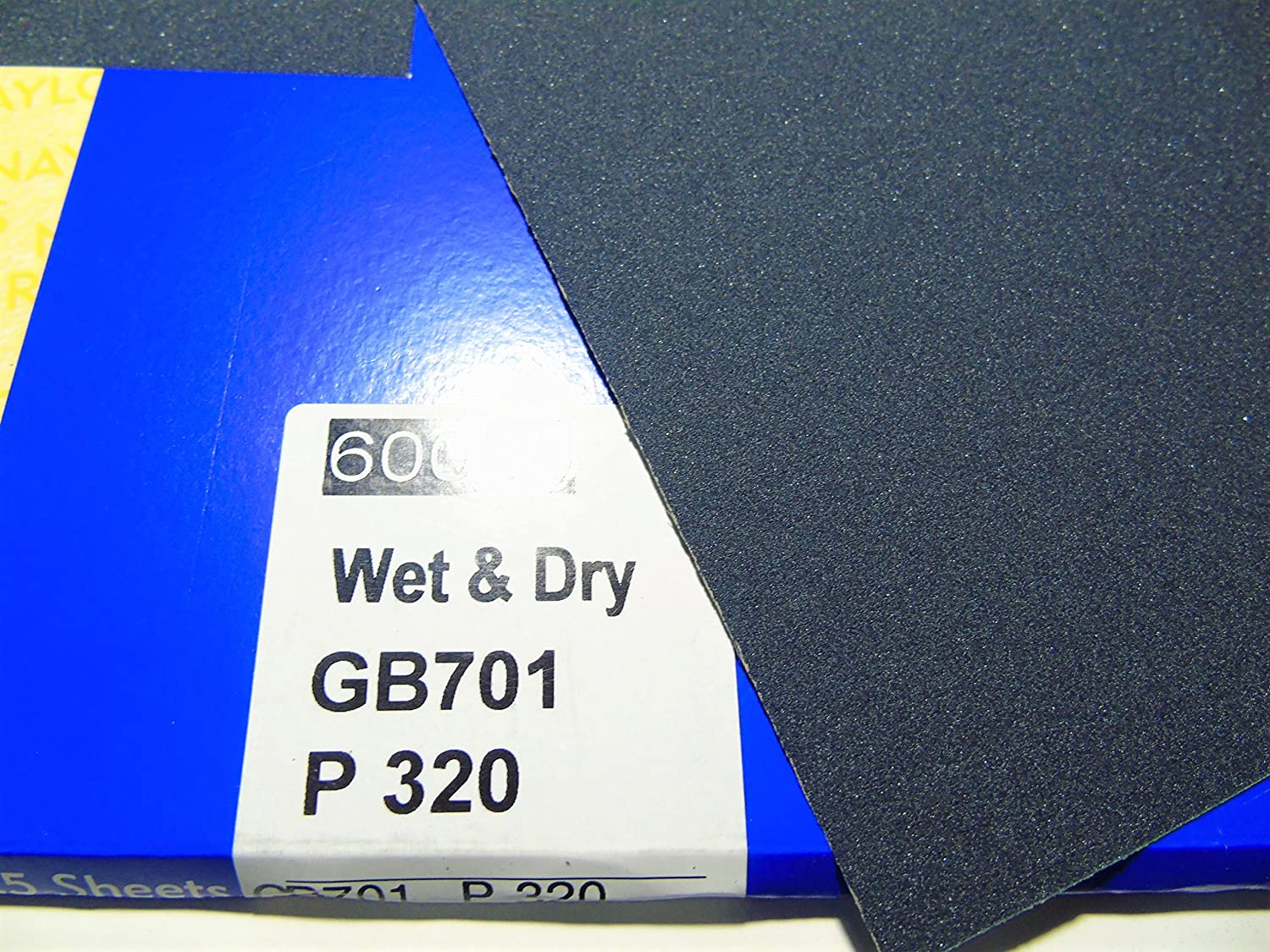 10 x Grit 320 Wet and dry Sandpaper Sheets waterproof Abrasive Medium Fine Quality Silicon Carbide