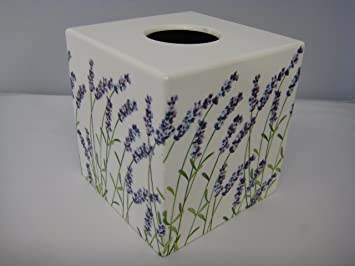 Lavender Tissue Box Cover wooden handmade in UK & Lavender Tissue Box Cover wooden handmade in UK: Amazon.co.uk ... Aboutintivar.Com