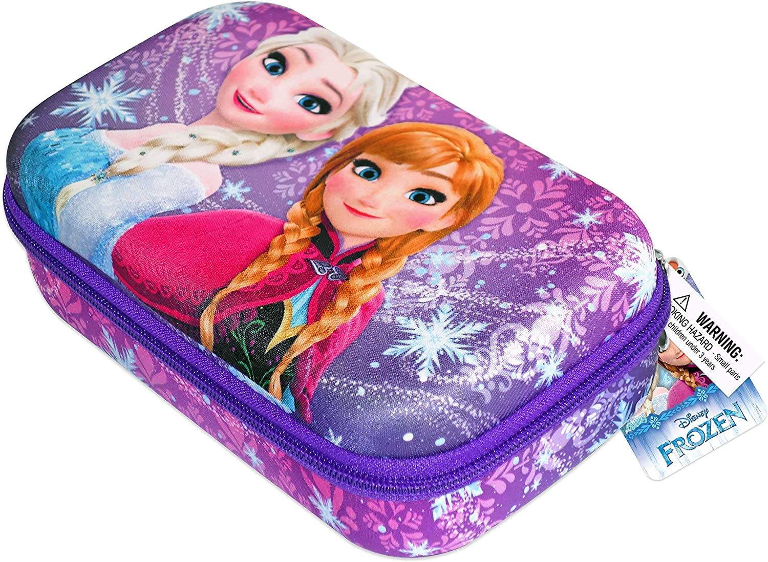 Disney Frozen Pencil Case for Girls with Princess Elsa and Anna